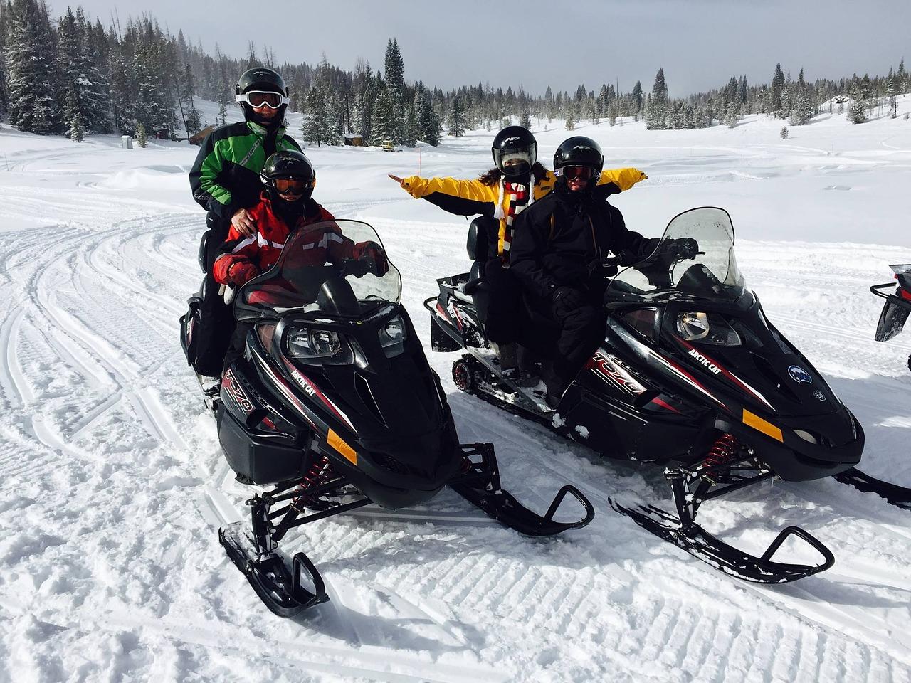 Skvělé zážitky z jízd na sněžném skútru
