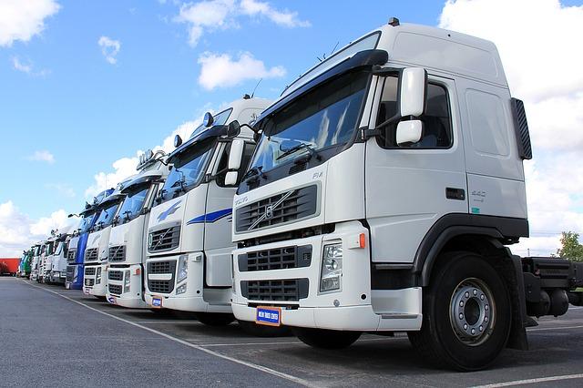 bazar nákladních aut